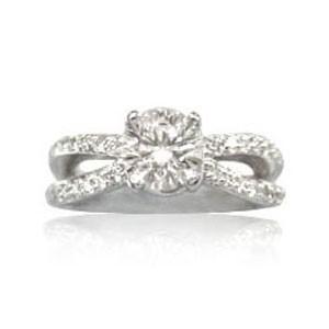 AFS-0043 Diamond Engagement Ring