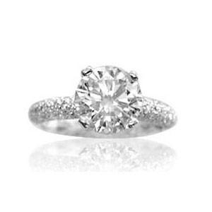 AFS-0048 Diamond Engagement Ring