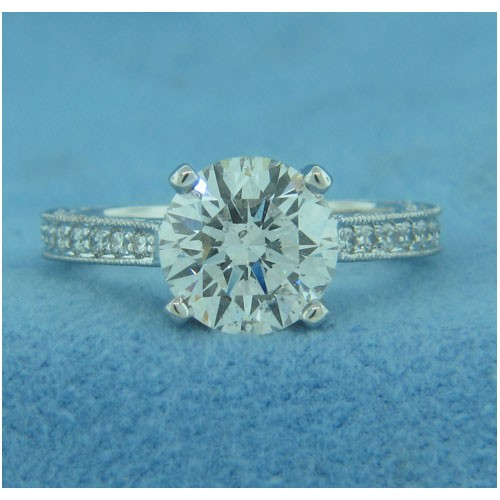 AFS-0062 Diamond Engagement Ring
