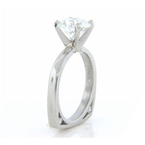 AFS-0100 Diamond Engagement Ring
