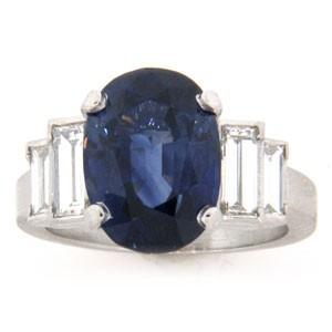 AFS-0105 Diamond Engagement Ring