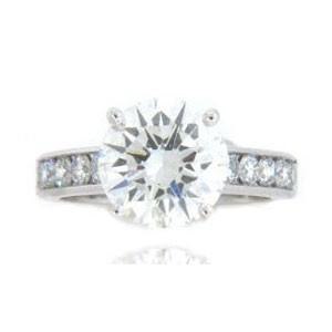 AFS-0111 Diamond Engagement Ring