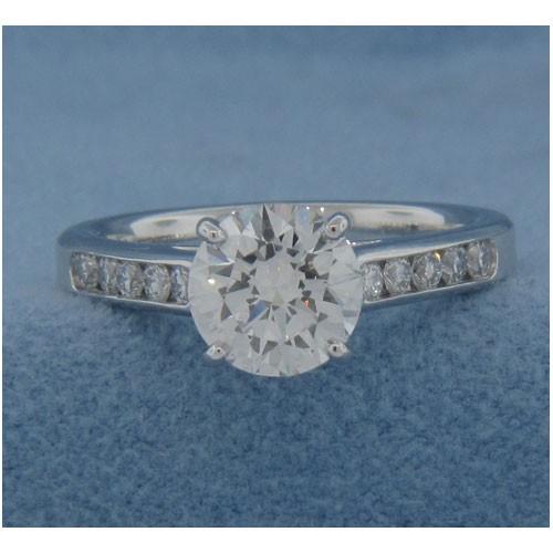 AFS-0117 Diamond Engagement Ring