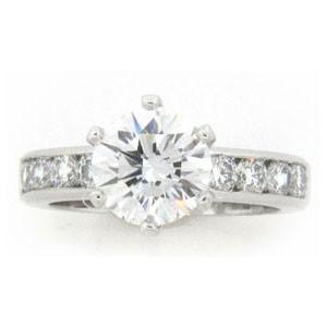 AFS-0133 Diamond Engagement Ring