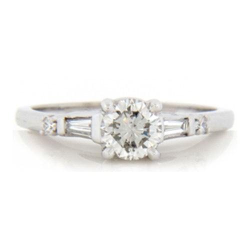 AFS-0150 Diamond Engagement Ring