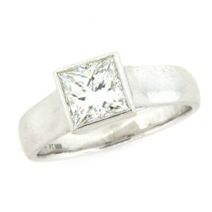 AFS-0163 Solitaire Engagement Ring