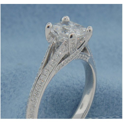 AFS-0179 Diamond Engagement Ring