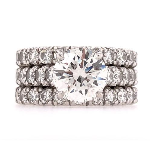 AFS-0213 Diamond Engagement Ring