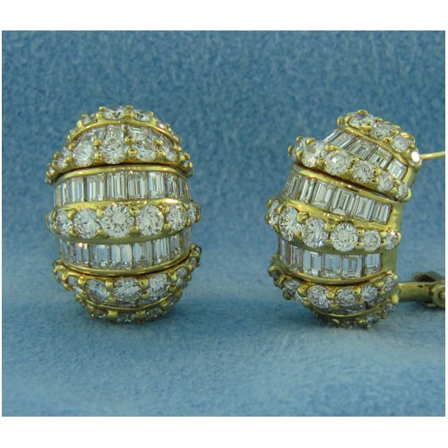 E1221 Diamond Earrings