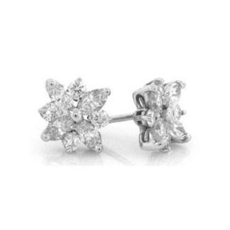 E1222 Diamond Earrings