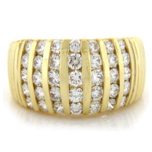 WB2513 Diamond Wedding Ring