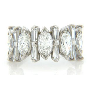 WB2523 Diamond Wedding Ring