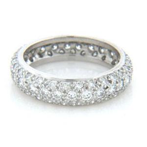 WB2555 Diamond Wedding Ring