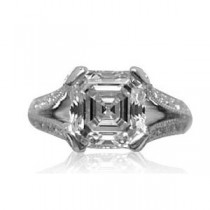 AFS-0040 Diamond Engagement Ring
