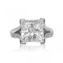 AFS-0041 Diamond Engagement Ring