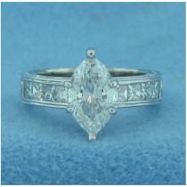 AFS-0055 Diamond Engagement Ring