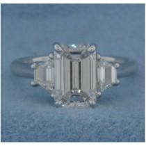 AFS-0094 Three Stone Diamond Engagement Ring