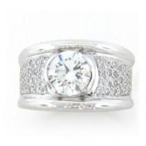 AFS-0096 Diamond Engagement Ring