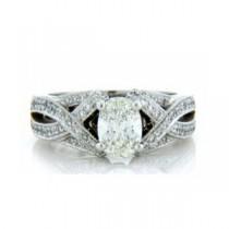 AFS-0124 Diamond Engagement Ring