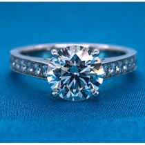 AFS-0131 Diamond Engagement Ring