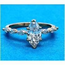 AFS-0223 Diamond Engagement Ring